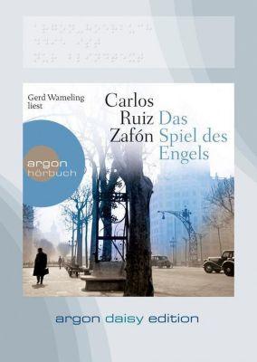 Das Spiel des Engels, 1 MP3-CD, Carlos Ruiz Zafón
