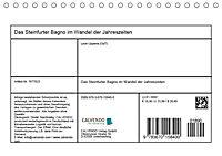Das Steinfurter Bagno im Wandel der Jahreszeiten (Tischkalender 2019 DIN A5 quer) - Produktdetailbild 9