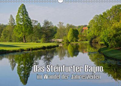 Das Steinfurter Bagno im Wandel der Jahreszeiten (Wandkalender 2019 DIN A3 quer), Leon Uppena (GDT)