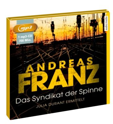 Das Syndikat der Spinne, MP3-CD, Andreas Franz