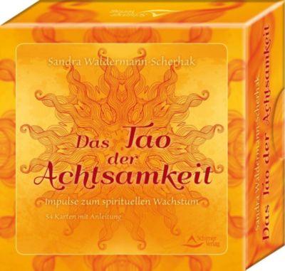 Das Tao der Achtsamkeit, m. Meditationskarten, Sandra Waldermann-Scherhak