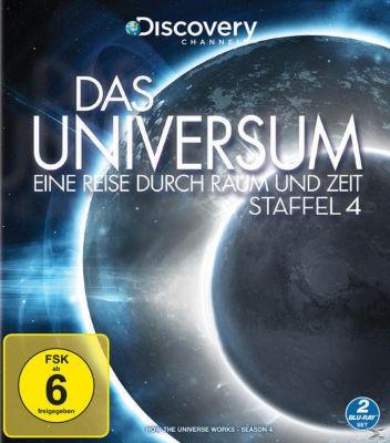 Das Universum - Eine Reise durch Raum und Zeit - Staffel 4 - 2 Disc Bluray