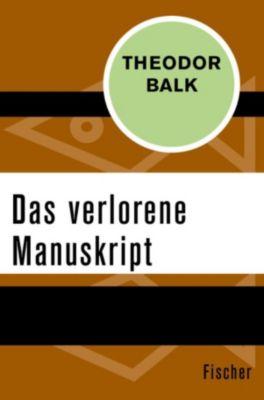 Das verlorene Manuskript, Theodor Balk