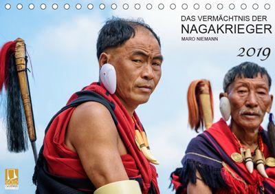 Das Vermächtnis der Nagakrieger (Tischkalender 2019 DIN A5 quer), Maro Niemann