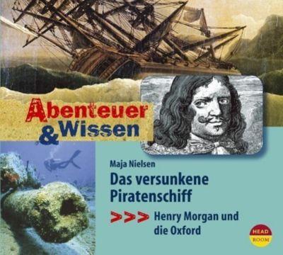 Das versunkene Piratenschiff, Audio-CD, Maja Nielsen
