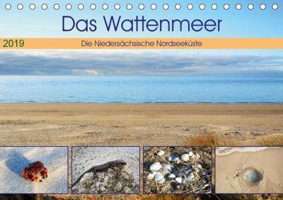 Das Wattenmeer - 2019 (Tischkalender 2019 DIN A5 quer), Günther Klünder