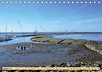 Das Wattenmeer - 2019 (Tischkalender 2019 DIN A5 quer) - Produktdetailbild 2