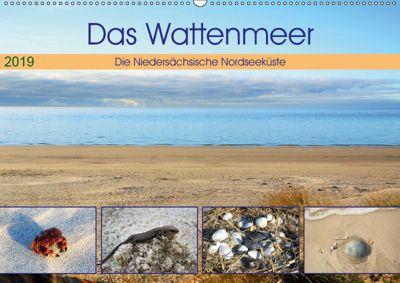 Das Wattenmeer - 2019 (Wandkalender 2019 DIN A2 quer), Günther Klünder