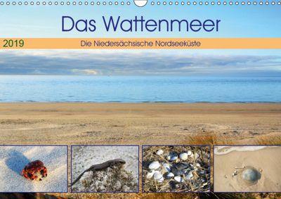 Das Wattenmeer - 2019 (Wandkalender 2019 DIN A3 quer), Günther Klünder