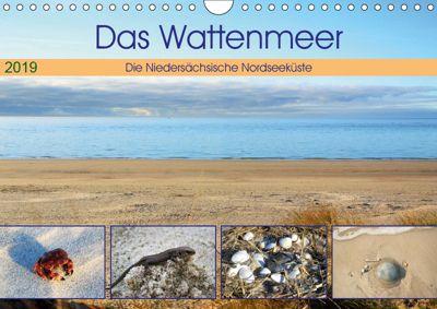 Das Wattenmeer - 2019 (Wandkalender 2019 DIN A4 quer), Günther Klünder