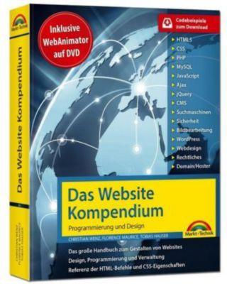 Das Website-Handbuch, m. DVD-ROM, Christian Wenz, Tobias Hauser