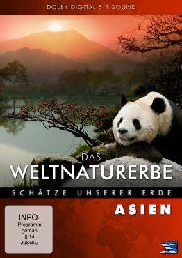 Das Weltnaturerbe Asien, DVD