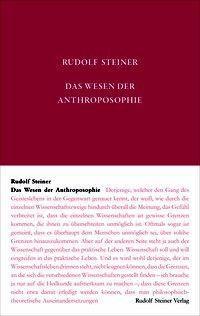 Das Wesen der Anthroposophie - Rudolf Steiner pdf epub