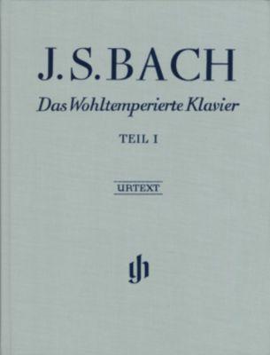 Das Wohltemperierte Klavier, mit Fingersätzen: Tl.1 BWV 846-869, Johann Sebastian Bach