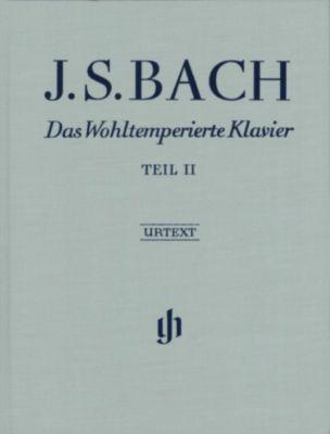 Das Wohltemperierte Klavier, mit Fingersätzen: Tl.2 BWV 870-893, Johann Sebastian Bach
