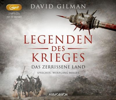 Das zerrissene Land, 2 MP3-CDs, David Gilman