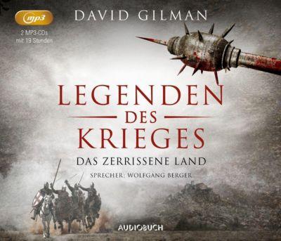 Das zerrissene Land, 2 MP3-CDs, David Gilman