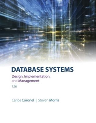 Database Systems, Steven Morris, Carlos Coronel