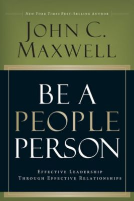 David C. Cook: Be A People Person, John C. Maxwell