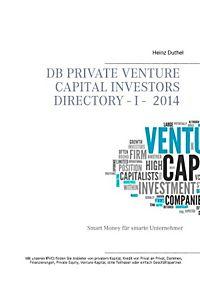 DB Private Venture Capital Investors Directory  I - 2014