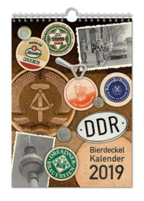DDR Bierdeckelkalender 2019