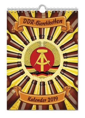 DDR-Bieretiketten Kalender 2019