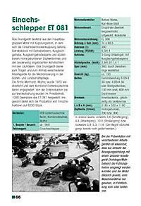 DDR-Traktoren und Landmaschinen 1945-1990 - Produktdetailbild 1