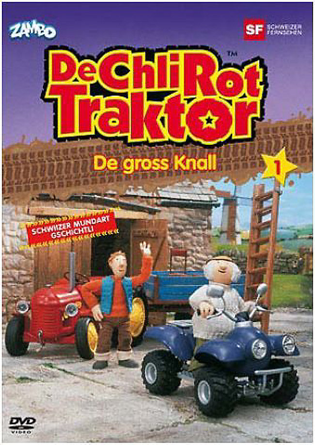 De chli Rot Traktor De grossi Knall (1DVD) Cover