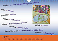 De Hessisch-Kalenner - hessisch babbele lerne in aam Johr (Wandkalender 2019 DIN A4 quer) - Produktdetailbild 6