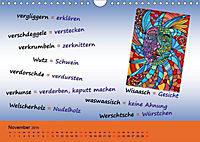De Hessisch-Kalenner - hessisch babbele lerne in aam Johr (Wandkalender 2019 DIN A4 quer) - Produktdetailbild 3