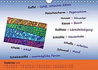 De Hessisch-Kalenner - hessisch babbele lerne in aam Johr (Wandkalender 2019 DIN A4 quer) - Produktdetailbild 5