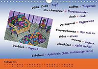De Hessisch-Kalenner - hessisch babbele lerne in aam Johr (Wandkalender 2019 DIN A4 quer) - Produktdetailbild 2