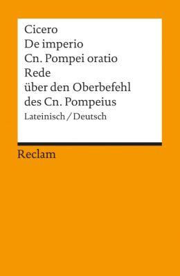 De imperio Cn. Pompei ad Quirites oratio - Cicero |