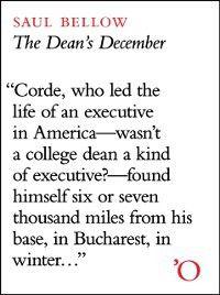 Dean's December, Saul Bellow