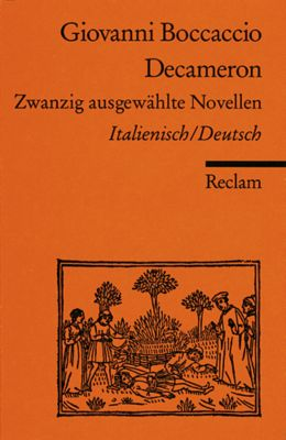 Decameron, Italienisch-Deutsch - Giovanni Boccaccio |