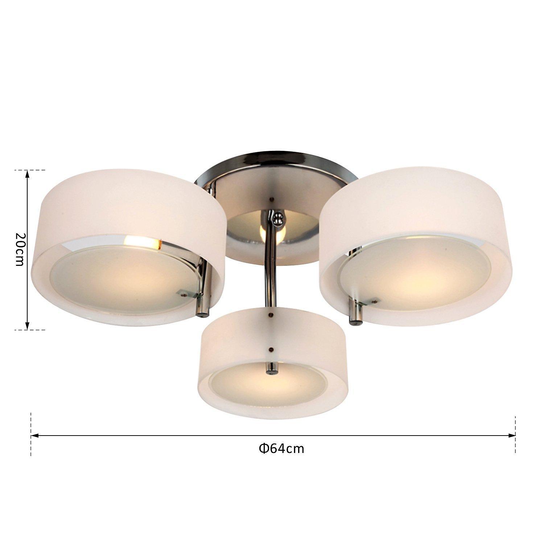 Inspirierend Deckenlampe 3 Flammig Dekoration Von 3-flammig