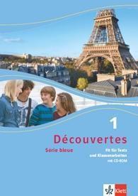 Découvertes - Série bleue: Bd.1 Fit für Tests und Klassenarbeiten, m. CD-ROM (Klasse 7)