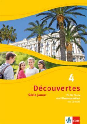 Découvertes - Série jaune: Bd.4 Fit für Tests und Klassenarbeiten, m. CD-ROM