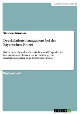 Deeskalationsmanagement bei der Bayerischen Polizei, Simone Wimmer