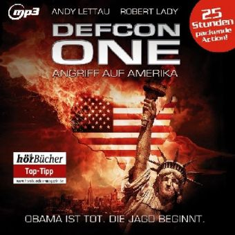 Defcon One, 6 MP3-CDs, Andy Lettau, Robert Lady