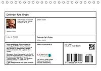 Defender für's Grobe (Tischkalender 2019 DIN A5 quer) - Produktdetailbild 13