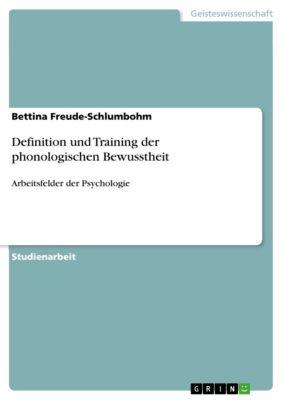Definition und Training der phonologischen Bewusstheit, Bettina Freude-Schlumbohm