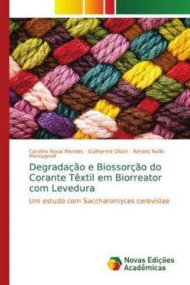 Degradação e Biossorção do Corante Têxtil em Biorreator com Levedura, Carolina Rosai Mendes, Guilherme Dilarri, Renato Nallin Montagnolli