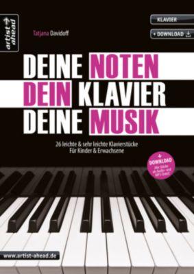 Deine Noten, Dein Klavier, Deine Musik, m. Audio-CD - Tatjana Davidoff pdf epub