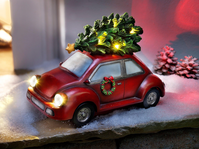 Auto Weihnachtsbaum.Deko Auto Mit Led Beleuchtung Tannenbaum Bestellen Weltbild De