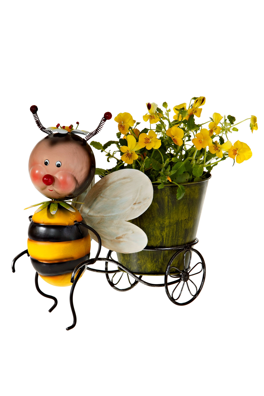Deko Biene Mit Blumentopf Jetzt Bei Weltbild De Bestellen