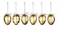 Deko-Eier zum Hängen, metallic, 18er-Set - Produktdetailbild 2