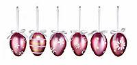 Deko-Eier zum Hängen, metallic, 18er-Set - Produktdetailbild 3
