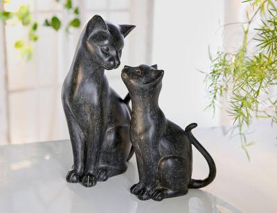 Deko-Katzen Duett, 2er-Set