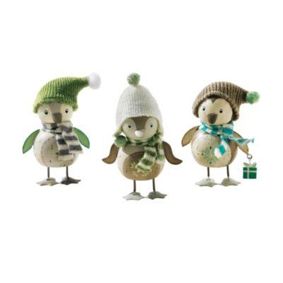 Deko-Pinguin-Set Winterfreunde, 3-teilig